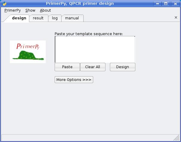 Primerpy Gui Tool For Qpcr Primer Design