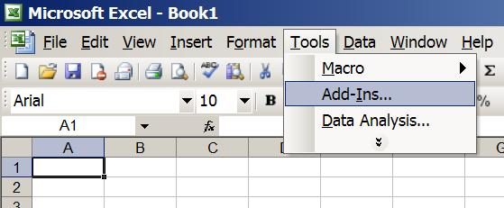 how to install excel add in for qc